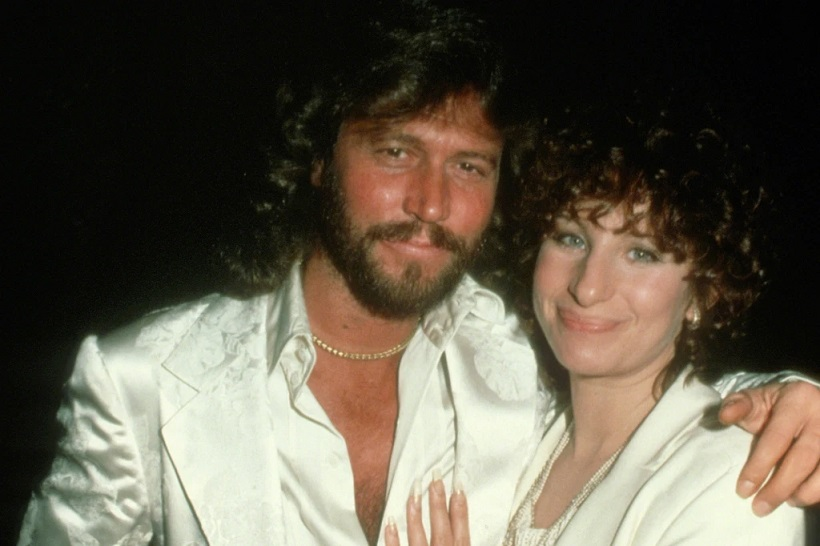 """Marx replaced Barry Gibb on """"Guilty,"""" his duet with Barbra Streisand, when the Bee Gee forgot to sing a line."""