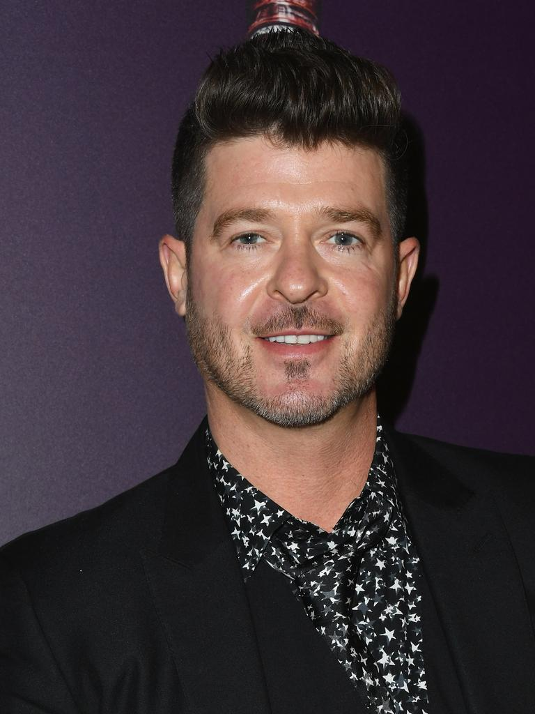 Ratajkowski's charges remain unanswered by Robin Thicke.